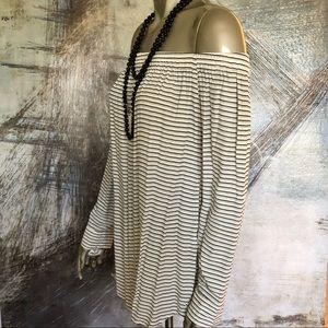 Faithful Sea Salt Stripe Repeat Dress